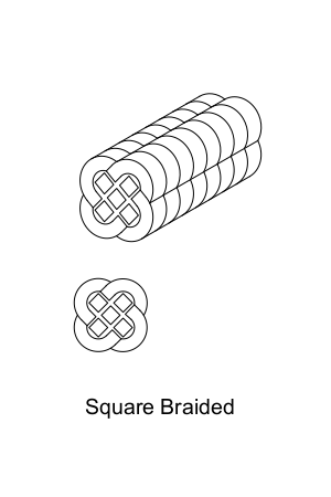 Square Braided